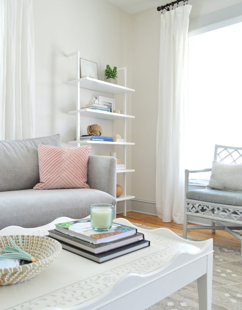 Making A Light & Livable Living Room | Young House Love