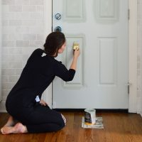 My New Favorite Front Door Paint (& Tips For Painting A Door)