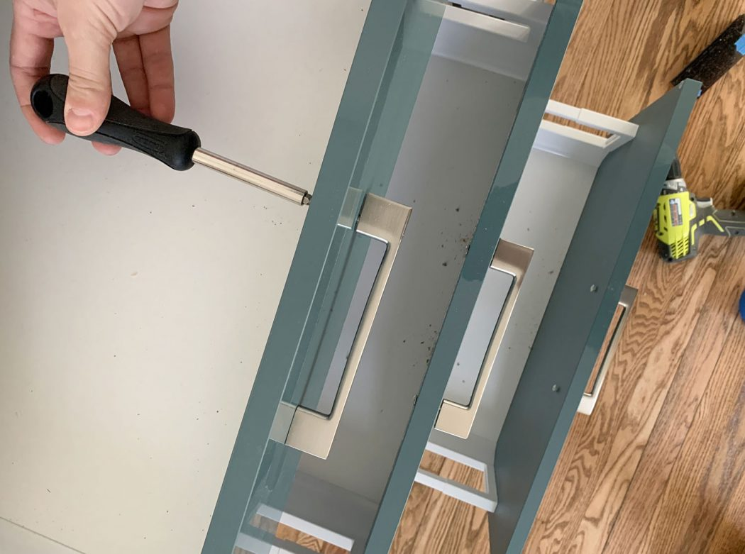 How To Install Cabinet Hardware With
