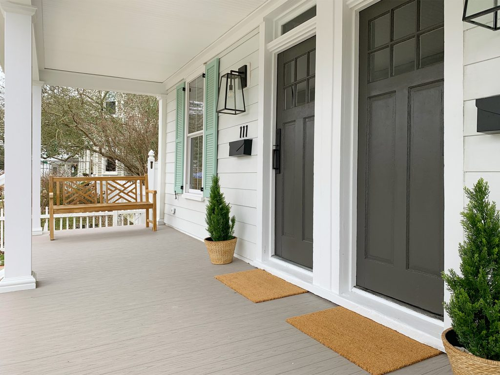 Superb A Front Porch Makeover At The Duplex Young House Love Uwap Interior Chair Design Uwaporg