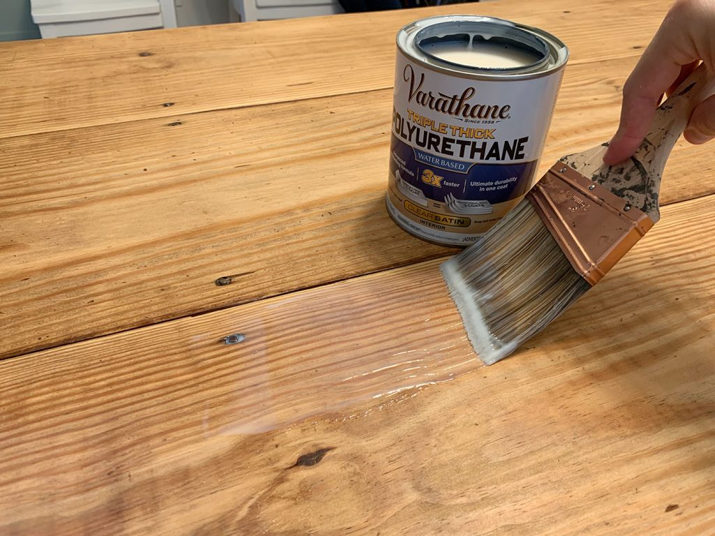 The Miracle That Is Sanding & Refinishing A Table   Young House Love