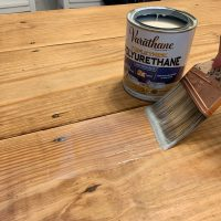 The Miracle That Is Sanding & Refinishing A Table