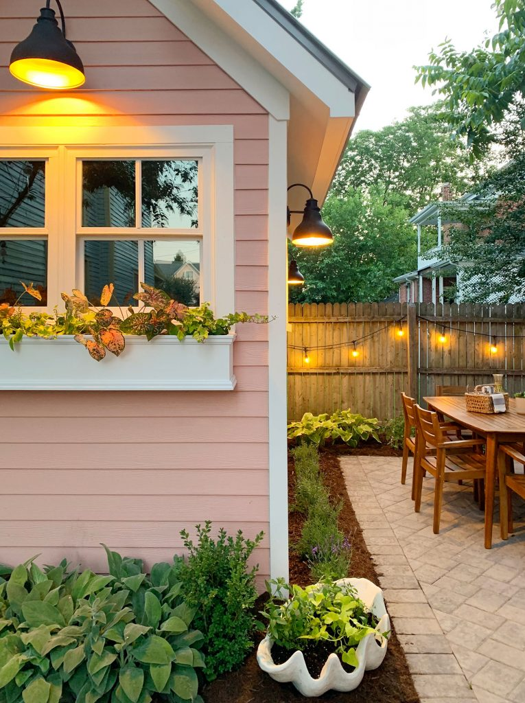 The Beach House Backyard Makeover (It's A Biggie)   Young