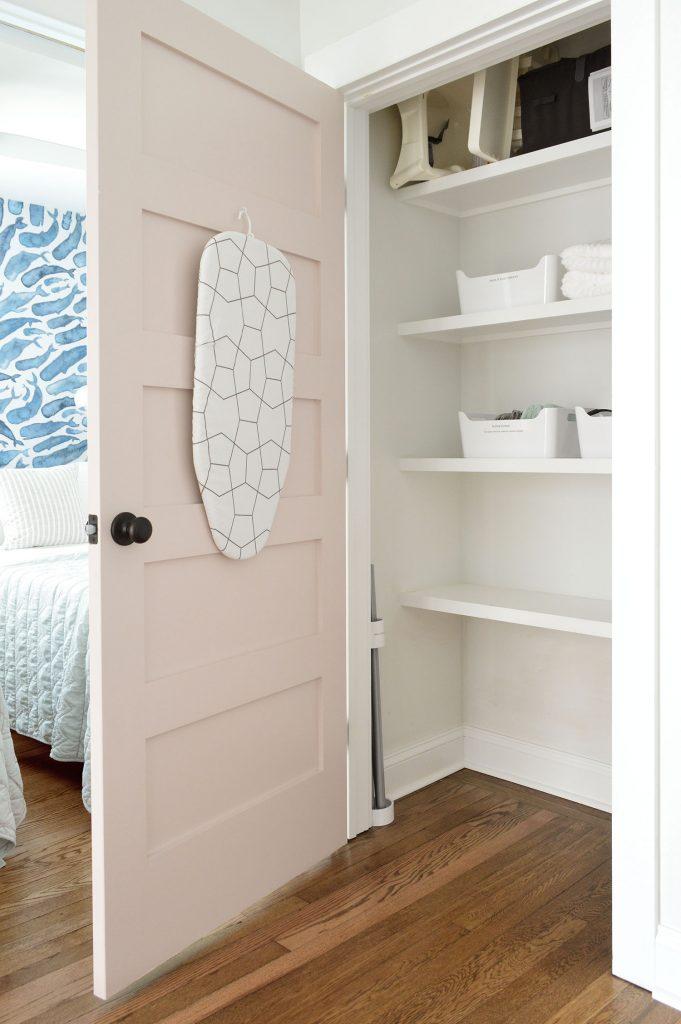 Duplex Hallway Linen Closet Open Organization