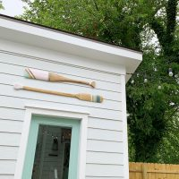 How To Make Decorative Oars (And How To Not Almost Ruin Them Like I Did)