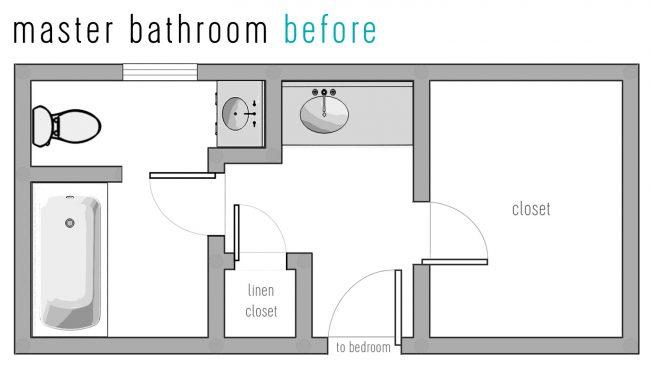 Our Bathroom Reno: The Floor Plan & Tile Picks!