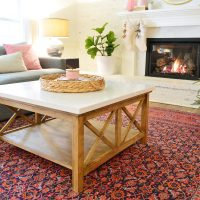 Our Stone-Topped Coffee Table Hack
