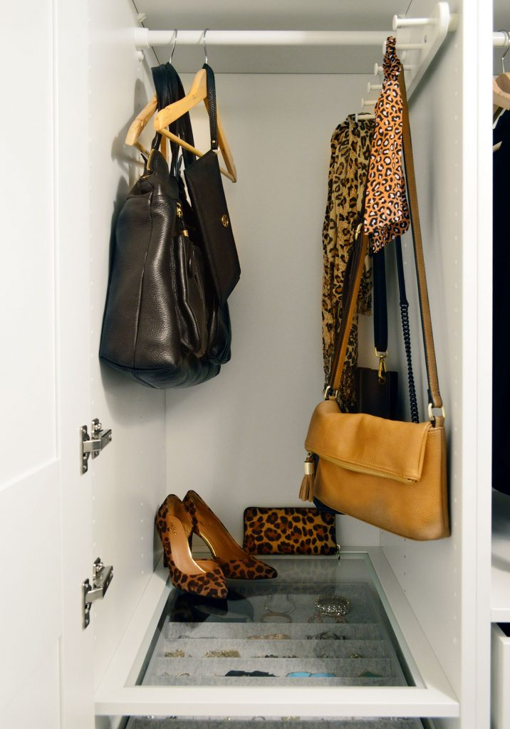 Bag PurseAnd Scarf Storage In Ikea Pax Closet System