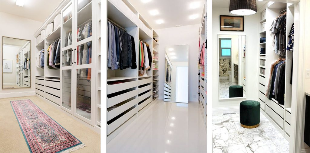 Our Big Closet Makeover - The Budget, The Video Tour, And The Before & Afters