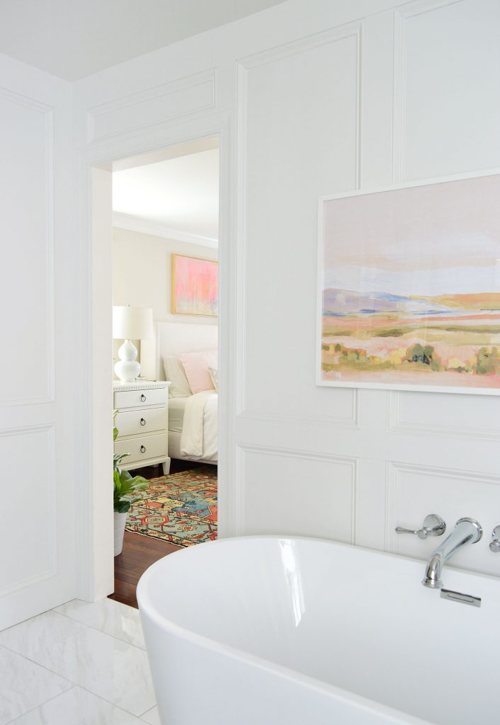 How We Added Decorative Wall Molding To Our Bathroom Young House Love