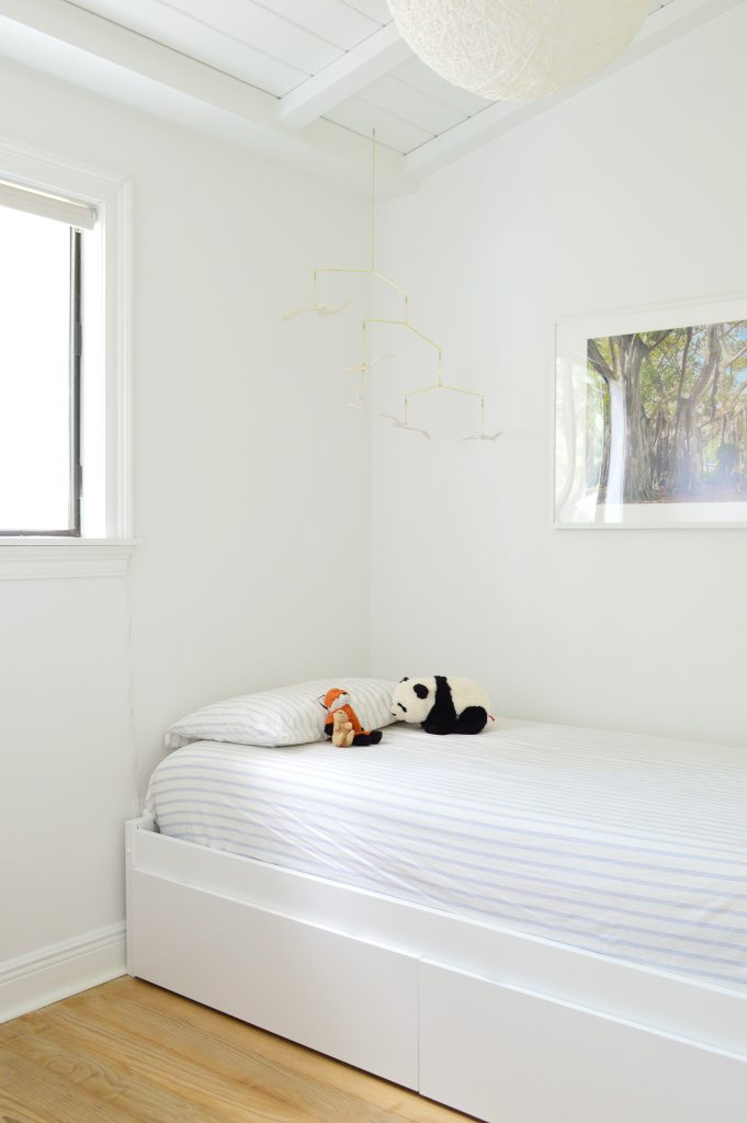 Diy Headboard Custom Bookshelf Cozy Built In Kids Bed Young House Love