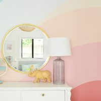 How To Paint A Colorful Abstract Wall Mural