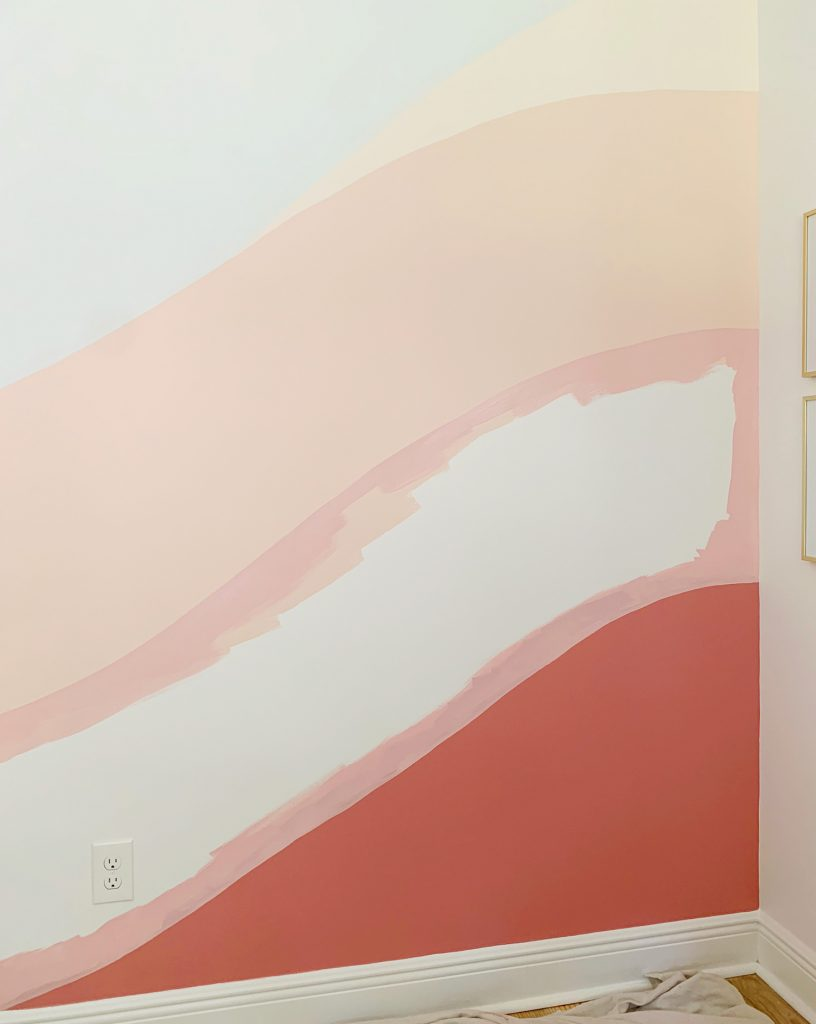 This image has an empty alt attribute; its file name is Colorful-Wall-Mural-Filling-Pink-Outlined-816x1024.jpg