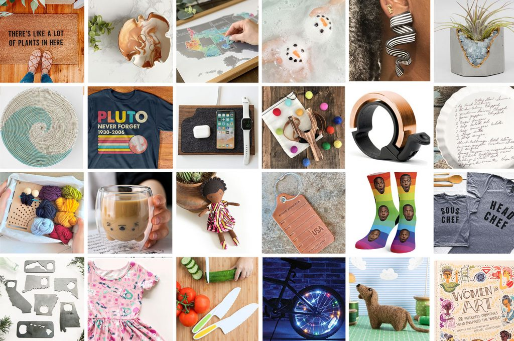 2020 Gift Guide Collage