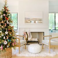 How We Built An Easy Modern Fireplace Mantel… Just In Time For Stockings!