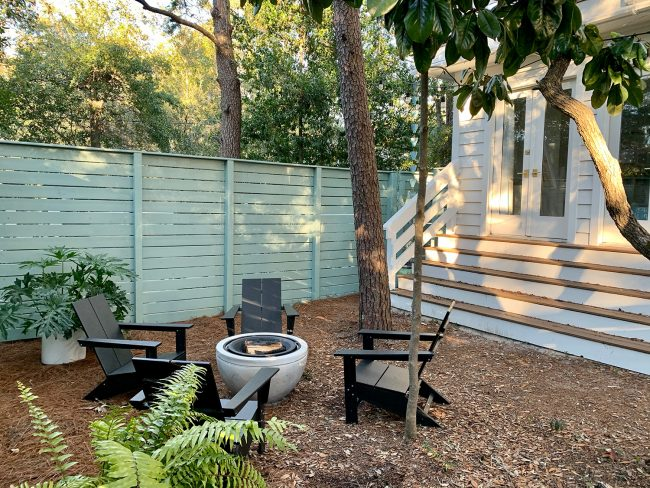 How We Created A Cozy Fire Pit Area In Our Formerly Boring Side Yard