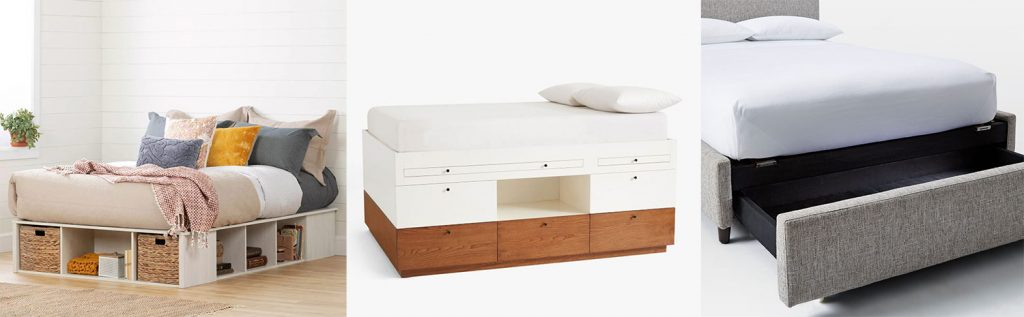 Storage Bed Moodboard With 3 Options