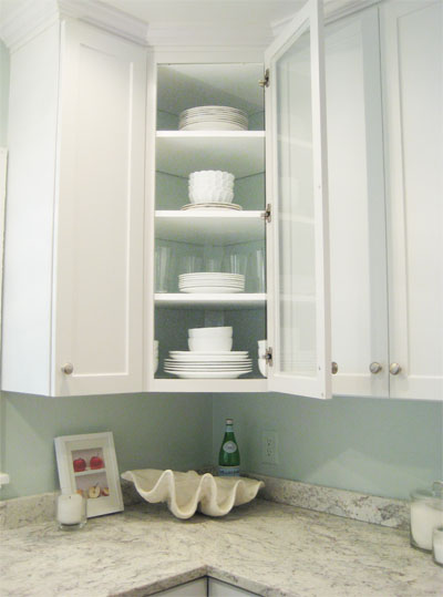 Add Style And Interest To Your Kitchen Paint The Back Of
