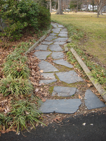 Making A Slate Path To Our Front Door Young House Love