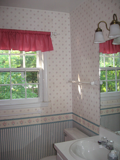 wallpaper border removal fabric softener