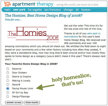 homies 2008 apartment therapy young house love