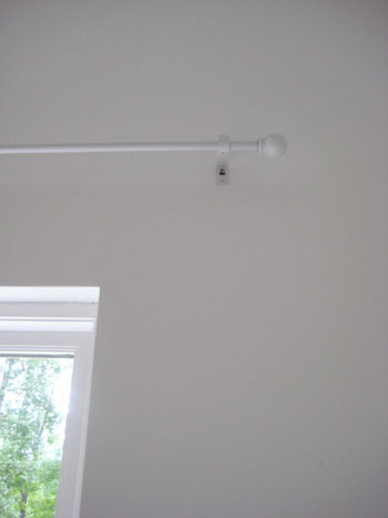Where To Hang Curtain Rods Amusing With How Hang Curtain Rod Picture