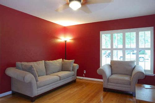 Red Color Living Room Walls - Euskal.Net