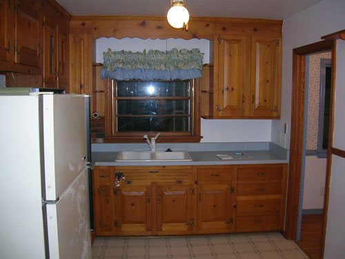Painting your kitchen cabinets is easy just follow our for Painting wood kitchen cabinets white
