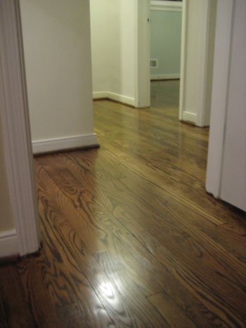 Pricing and picking oak hardwood flooring young house love for Hardwood floors upstairs