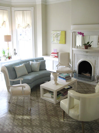 living-room-parlor-domino-magazine-stenciled-painted-wood-floors
