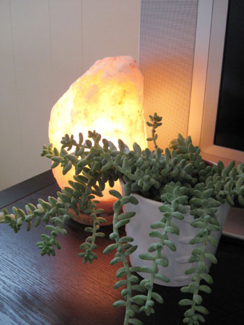 Negative Ions In Salt Lamps : Good To Glow