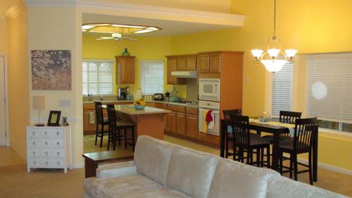 Warm And Cozy Dining Room Moodboard: A Warm Yellow And Red Living And Dining Room Custom Online