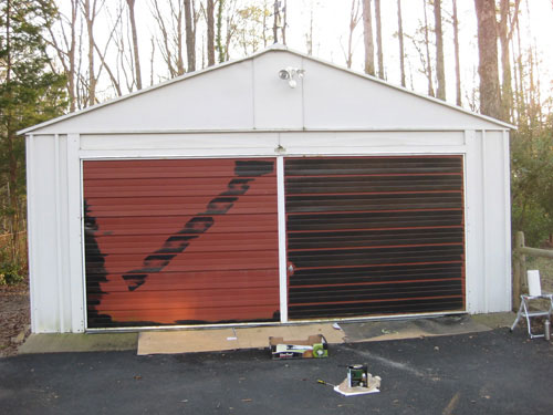 before-and-after-garage-door-makeover-with-paint