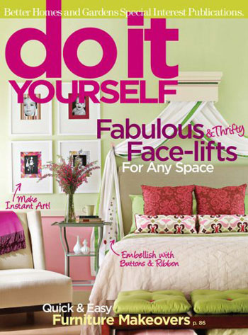 Home Design Magazine home decoration design magazine Do It Yourself Magazine Cover