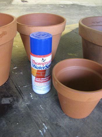 painting terra cotta pots supplies