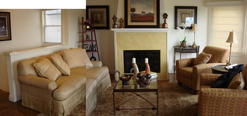 Living Room Custom Mood Board Makeover