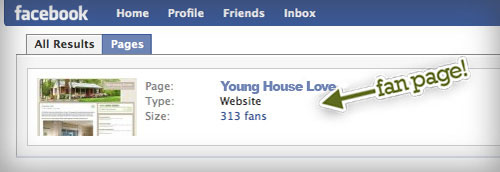 young house love fan page facebook