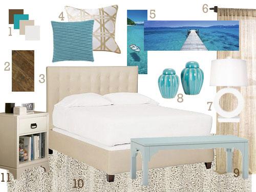 hannah 39 s second custom mood board is full of beachy tones