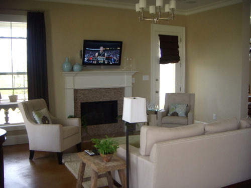 Living Room Ideas With Tv Above Fireplace Nomadiceuphoria Com