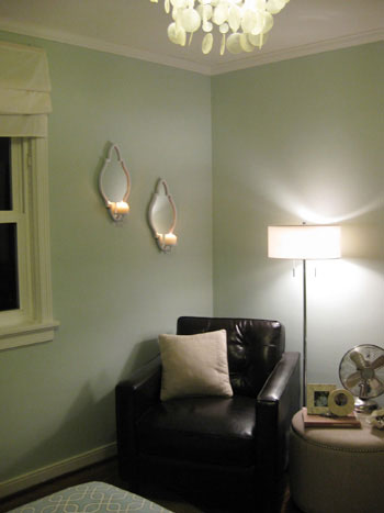 Three Candle Sconces On The Bedroom Wall Young House Love