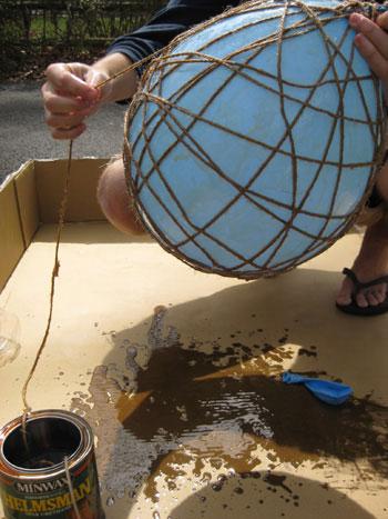 urethane-and-Balloon-make-mobile