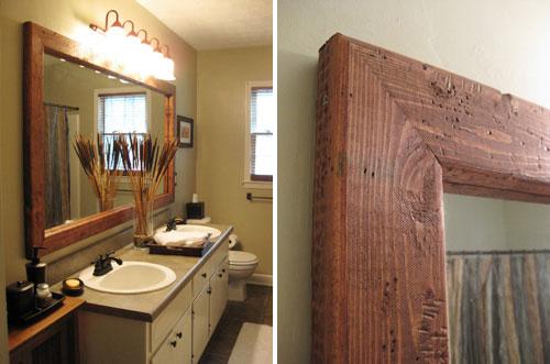 katie-guest-bathroom-mirror-frame-distressed-wood