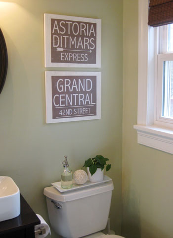 Making Vintage Looking Wall Signs With Wood Amp Paper