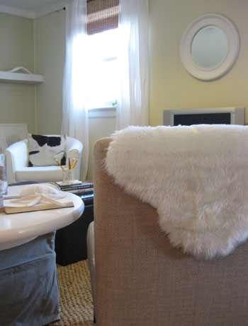 Feeling Sheepish Making A Faux Sheepskin Rug Part 2