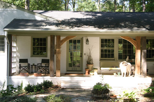 Painted Brick House Exterior Ranch Curb Appeal