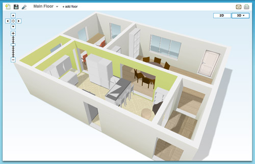 Online tools for planning a space in 3d young house love for Online floor plan tool