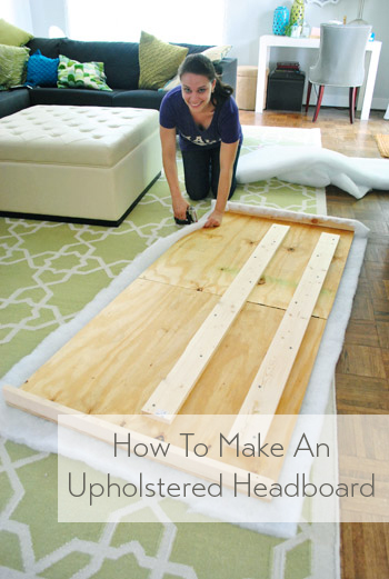 3 Easy Diy Storage Ideas For Small Kitchen: How To Make A DIY Upholstered Headboard, Part 2