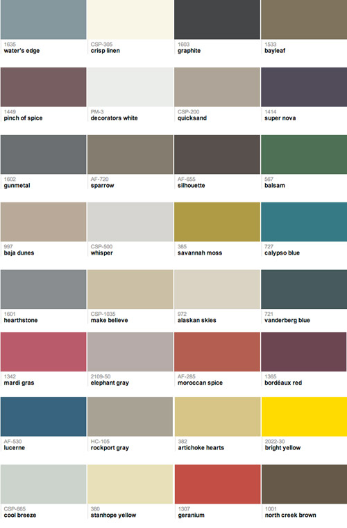 Our 32 Favorite Paint Colors This Year | Young House Love