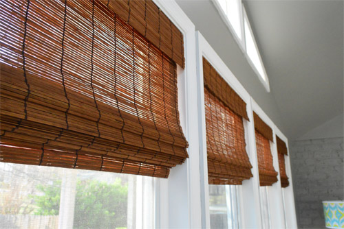 It S Gettin Hot In Hur So Add Some Bamboo Blinds Young