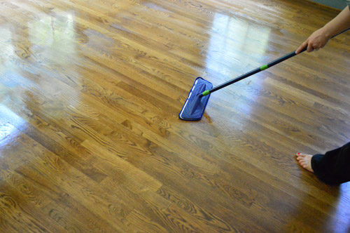 How To Clean Gloss Up And Seal Dull Old Hardwood Floors